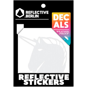 REFLECTIVE BERLIN Decals Pegatina Reflectora, blanco